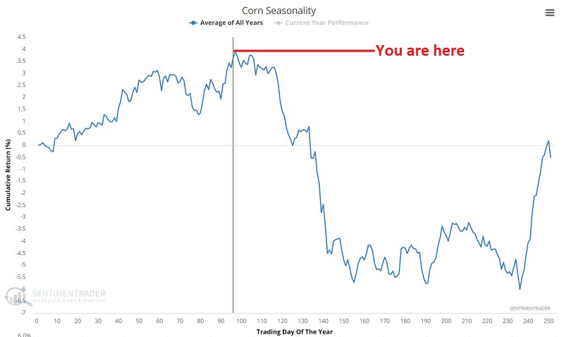 Corn seasonality